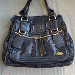 Authentic Chloe Calfskin Large Bay Tote